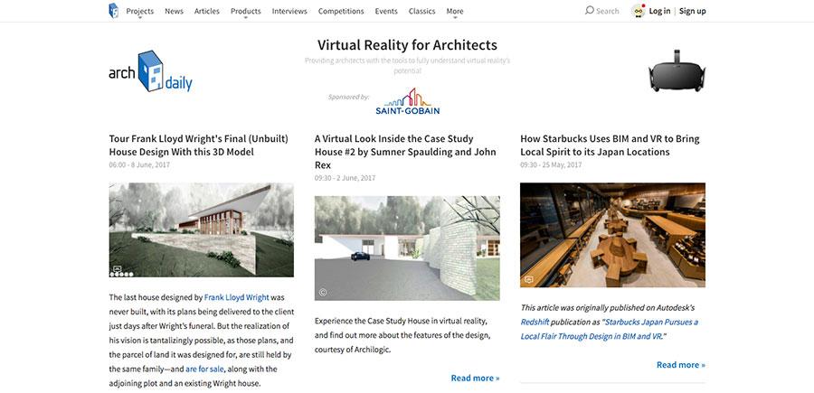 Virtuality Live - Inspiration - Arch Daily